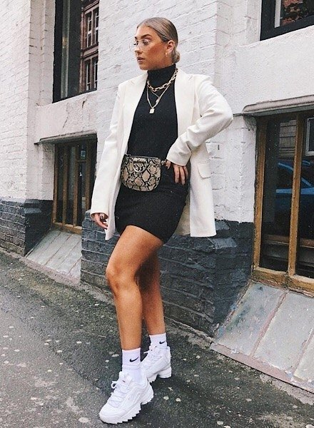 Fila Disruptor Outfit Ideas for Women