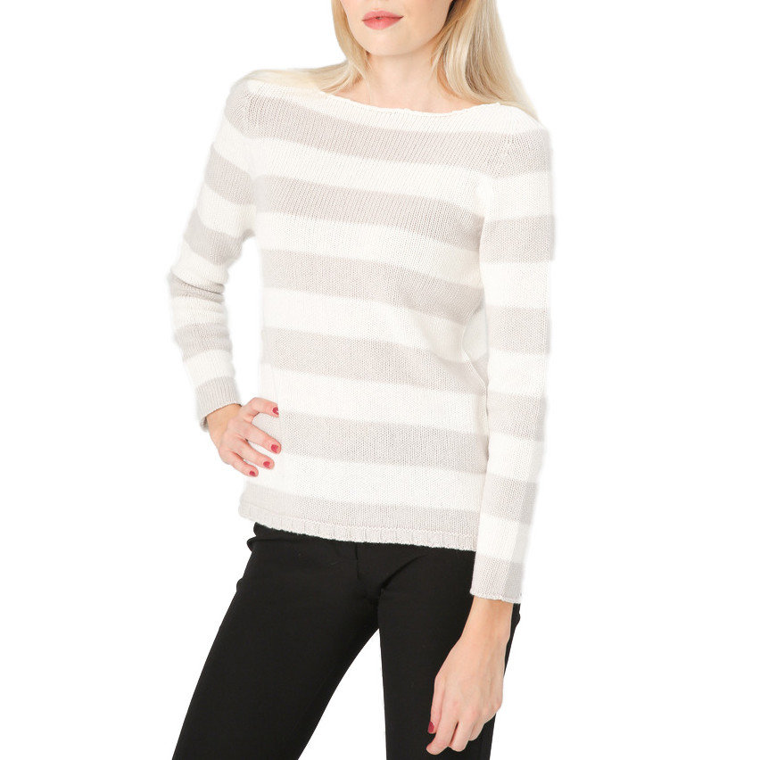 fluffy stripped sweater