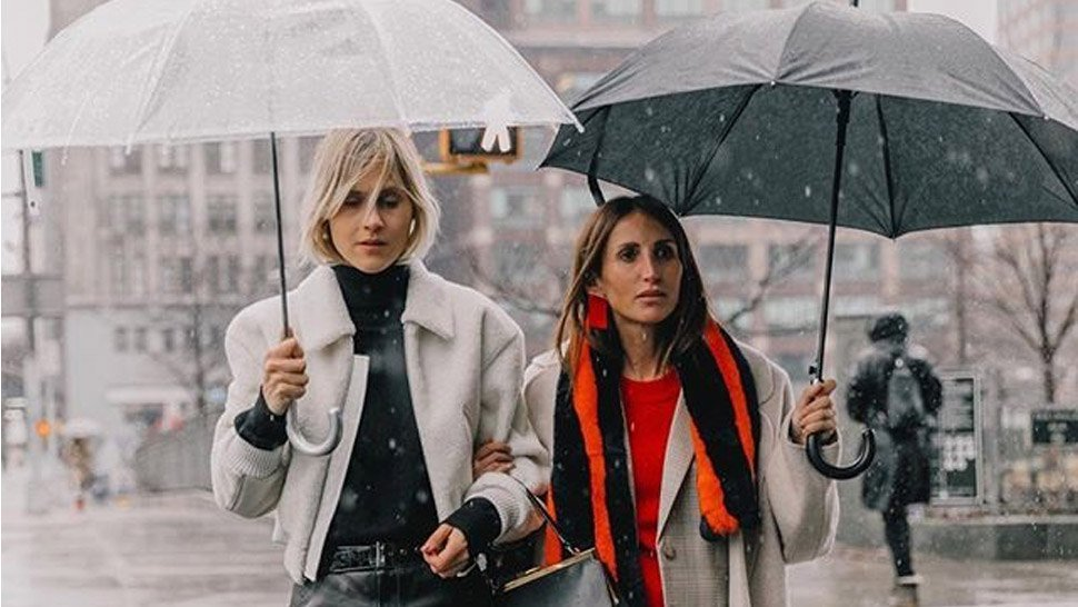 rainy days outfits