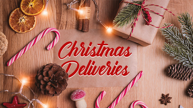 Christmas 2019 deliveries
